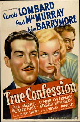True Confession - 27 x 40 Movie Poster - Style A