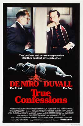 True Confessions - 27 x 40 Movie Poster - Style B