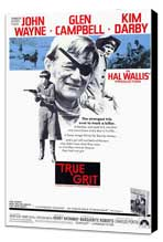 True Grit - 11 x 17 Movie Poster - Style A - Museum Wrapped Canvas