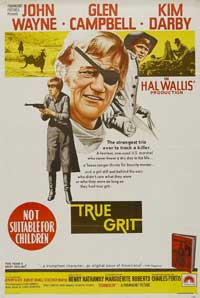 True Grit - 27 x 40 Movie Poster - Australian Style A