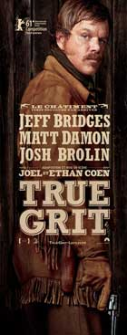 True Grit - 20 x 60 - Door Movie Poster - French Style A