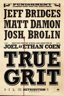True Grit - 11 x 17 Movie Poster - Style A