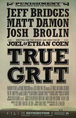True Grit - 11 x 17 Movie Poster - Style D
