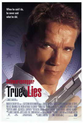 True Lies - 27 x 40 Movie Poster - Style A