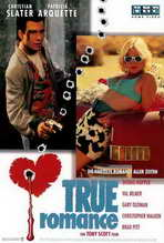 True Romance - 27 x 40 Movie Poster - German Style B