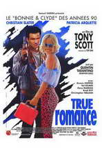 True Romance - 27 x 40 Movie Poster - French Style A
