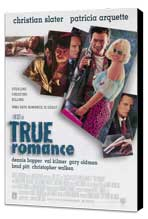 True Romance - 11 x 17 Movie Poster - Style A - Museum Wrapped Canvas