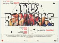 True Romance - 11 x 17 Movie Poster - French Style B