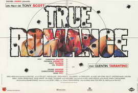 True Romance - 27 x 40 Movie Poster - French Style B