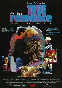 True Romance - 27 x 40 Movie Poster - German Style A