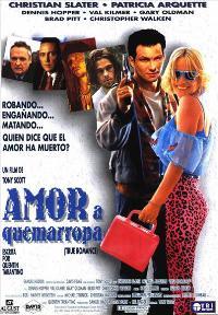 True Romance - 11 x 17 Movie Poster - Spanish Style A