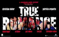 True Romance - 11 x 17 Movie Poster - Style B - Museum Wrapped Canvas