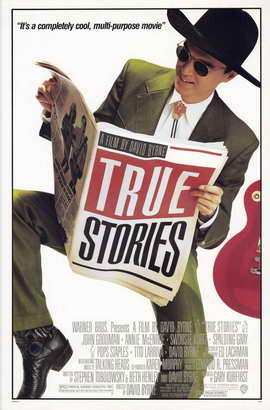 True Stories - 11 x 17 Movie Poster - Style A