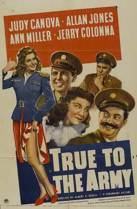 True to the Army - 11 x 17 Movie Poster - Style A