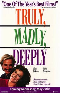 Truly, Madly, Deeply - 11 x 17 Movie Poster - Style A