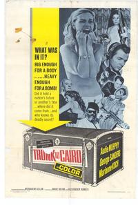 Trunk to Cairo - 27 x 40 Movie Poster - Style A