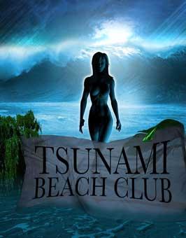 Tsunami Beach Club - 11 x 17 Movie Poster - Style A
