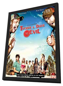 Tucker & Dale vs Evil - 11 x 17 Movie Poster - Style A - in Deluxe Wood Frame