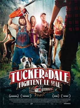 Tucker & Dale vs Evil - 27 x 40 Movie Poster - French Style A