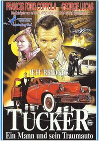 Tucker: The Man and His Dream - 11 x 17 Movie Poster - German Style B