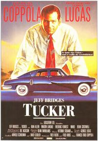 Tucker: The Man and His Dream - 11 x 17 Movie Poster - German Style C