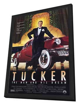 Tucker: The Man and His Dream - 27 x 40 Movie Poster - Style A - in Deluxe Wood Frame