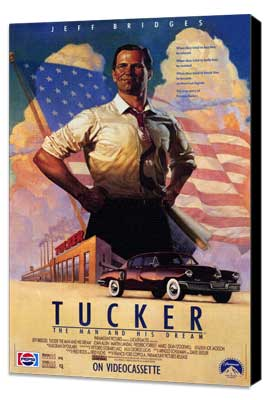Tucker: The Man and His Dream - 11 x 17 Movie Poster - Style A - Museum Wrapped Canvas