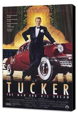 Tucker: The Man and His Dream - 27 x 40 Movie Poster - Style A - Museum Wrapped Canvas