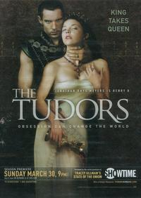 The Tudors - 27 x 40 TV Poster - Style B