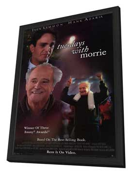 Tuesdays With Morrie - 11 x 17 Movie Poster - Style A - in Deluxe Wood Frame