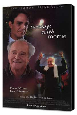 Tuesdays With Morrie - 11 x 17 Movie Poster - Style A - Museum Wrapped Canvas