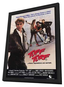 Tuff Turf - 27 x 40 Movie Poster - Style A - in Deluxe Wood Frame