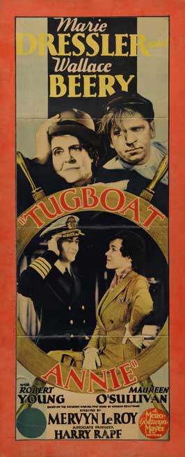 Tugboat Annie - 14 x 36 Movie Poster - Insert Style B