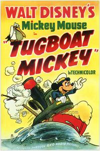 Tugboat Mickey - 27 x 40 Movie Poster - Style A