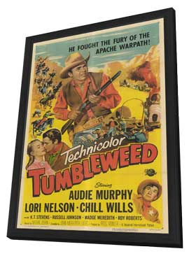 Tumbleweed - 11 x 17 Movie Poster - Style A - in Deluxe Wood Frame
