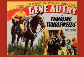 Tumbling Tumbleweeds - 27 x 40 Movie Poster - Style B