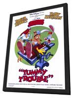 Tummy Trouble - 27 x 40 Movie Poster - Style A - in Deluxe Wood Frame