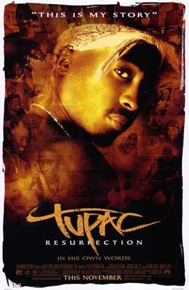 Tupac: Resurrection - 11 x 17 Movie Poster - Style A