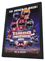 Turbo: A Power Rangers Movie - 27 x 40 Movie Poster - Style A - in Deluxe Wood Frame