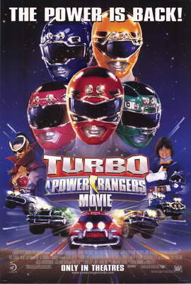 Turbo: A Power Rangers Movie - 27 x 40 Movie Poster - Style A