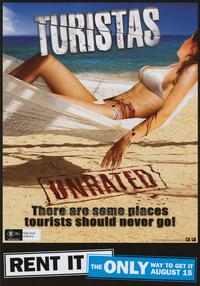 Turistas - 43 x 62 Movie Poster - Bus Shelter Style C