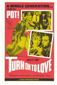 Turn On to Love - 11 x 17 Movie Poster - Style B