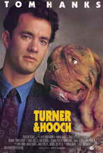 Turner and Hooch - 11 x 17 Movie Poster - Style A