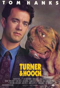 Turner and Hooch - 27 x 40 Movie Poster - Style A