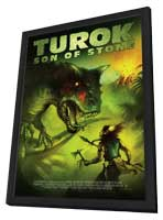 Turok: Son of Stone - 11 x 17 Movie Poster - Style A - in Deluxe Wood Frame