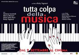 Tutta colpa della musica - 11 x 17 Movie Poster - Italian Style A
