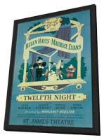 Twelfth Night (Broadway) - 11 x 17 Poster - Style A - in Deluxe Wood Frame