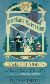 Twelfth Night (Broadway) - 14 x 22 Poster - Style A