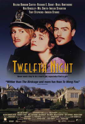 Twelfth Night - 11 x 17 Movie Poster - Style A