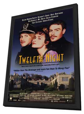 Twelfth Night - 11 x 17 Movie Poster - Style A - in Deluxe Wood Frame